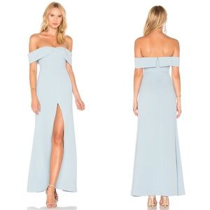 Lovers + Friends Danica Gown in Blue Strapless
